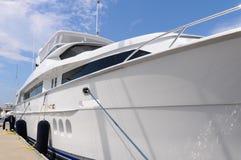 Large Luxury Yacht Stock Image