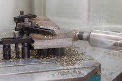 Large Machine drill work Royalty Free Stock Image