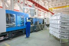 Large machine press form Stock Image