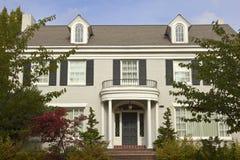 Large mansion Seattle WA. Royalty Free Stock Photos