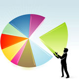 Large Market Share Stock Photography