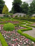 Large maze garden Royalty Free Stock Image