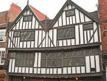 A large Medieval building; details. Stock Images
