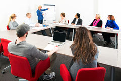 Large meeting Royalty Free Stock Images