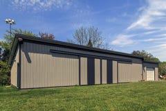Large Metal Barn Royalty Free Stock Image