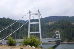 Large metal bridge Stock Image