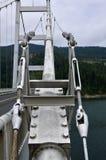 Large metal bridge Royalty Free Stock Images