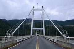 Large metal bridge Royalty Free Stock Photos