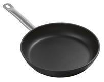 Large metal frying pan Stock Photography