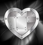 Large metal heart Royalty Free Stock Image