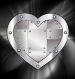 large metal heart Royalty Free Stock Image