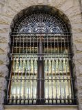 Large Metal Window Security Grill Royalty Free Stock Photos