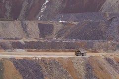 Large mining truck stock photos