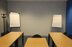 Large modern classroom or business. Empty large modern classroom or business training meeting room Stock Photo