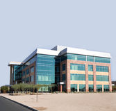 Large modern commercial facility Royalty Free Stock Photos