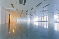 Large modern empty floor Royalty Free Stock Photos