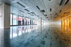 Large modern empty floor Stock Photography