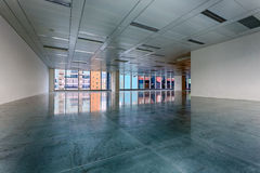 Large modern empty floor Stock Images