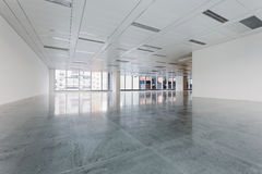Large modern empty floor Royalty Free Stock Image