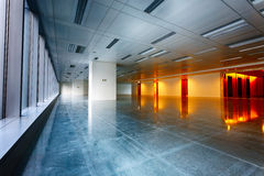 Large modern empty floor Stock Photo