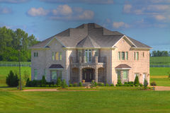 Large Modern House Stock Image