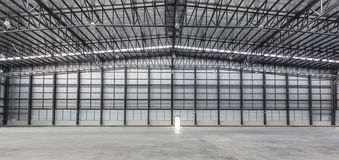 Large modern new storehouse Stock Image
