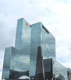 A large modern office building in Rotterdam. Royalty Free Stock Images