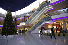 Large modern shopping center Morocco Mall Royalty Free Stock Photos