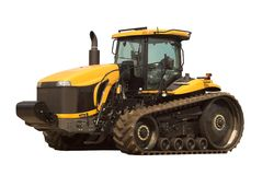 Large Modern Tractor Stock Photography