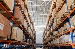 Large modern warehouse Royalty Free Stock Photos