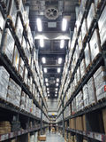Large modern warehouse Stock Images