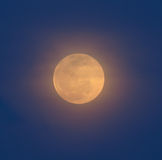 Large moon. At night,Thailand royalty free stock photography