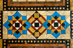 Large Mosaic Floor Tiles Stock Photography