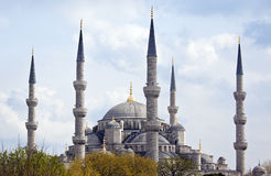 Large mosque, Istanbul Stock Images