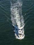 Large motor boat Stock Photography