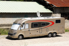 A large motorhome Royalty Free Stock Image
