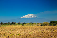 Large mountain Etna Royalty Free Stock Photography