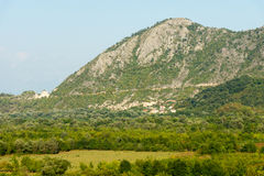 Large mountains of Montenegro stock photos