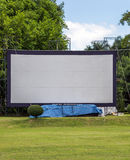 Large movie screen Stock Photo