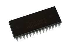 Large multi pin IC Stock Photo
