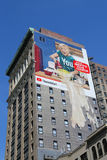 Large mural in midtown Manhatta Stock Images