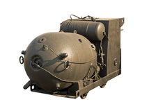 Large naval mine Royalty Free Stock Photography
