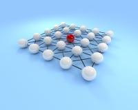 Large network Stock Photo