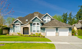 A large new house. Stock Photography