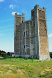 Large norman castle Stock Images