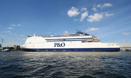 Large Northsea Ferry Royalty Free Stock Images