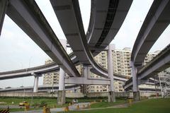 a large number of bridges stock photos
