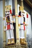 Large Nutcrackers Royalty Free Stock Photos