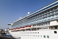 Large ocean liner Royalty Free Stock Image