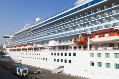 Large ocean liner Stock Photography
